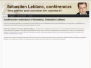screenshot http://www.conferenciermarketing.com conférencier motivateur