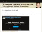 Conférencier Montréal