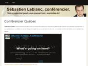 Conférencier Québec