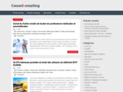screenshot http://www.conseil-emailing.fr blog sur l'e-mail marketing