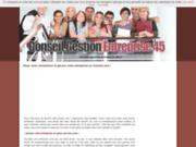 screenshot http://www.conseil-gestion-entreprise-45.fr/ etablissement de business plan 45