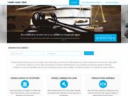 screenshot http://www.conseilavocatgratuit.com aide juridique gratuite