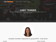 Conseiller immobilier safti - Cindy Terrier