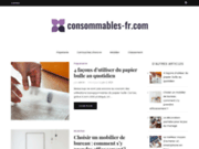 screenshot http://www.consommables-fr.com parc info - cartouches d'encre brother, canon, hp,