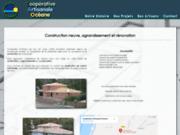 screenshot http://www.constructeur-maison-cao-40.com/ plombier carreleur landes 40