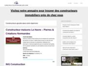screenshot http://www.constructeurimmobilier.com constructeur immobilier