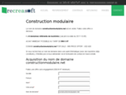 screenshot http://www.constructionmodulaire.net construction modulaire