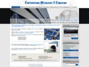 screenshot http://www.constructions-metalliques-convoyage.com construction métallique en Charente 16