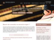screenshot http://www.consultation-juridique.org/ consultation juridique