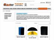 screenshot http://www.conteneur-dechets.fr benne à ordures