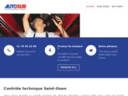 screenshot http://controletechniquesaintouen.com/ Controle Technique Saint Ouen
