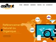 screenshot http://www.coo2boost.com/ communication digitale au Havre