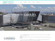 screenshot http://www.coolea.fr climatisation écologique industrie/tertiaire