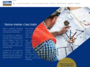 screenshot http://www.corbin-maconnerie.com/ entreprise corbin, un maçon à vire