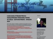 screenshot http://www.corinne-duval.fr corinne duval auteure