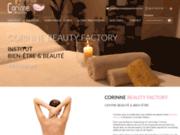 screenshot http://www.corinnebeautyfactory.com Corinne Beauty Factory