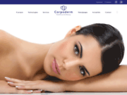 screenshot http://www.corpoderm.com/ matériel professionnel esthétique