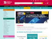 screenshot http://www.cosinus-mag.com/ cosinus : revue sciences