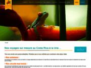 screenshot http://www.costarica-decouverte.com voyage costa rica