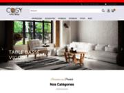 screenshot https://www.cosy-home-design.fr/ Cosy Home Design