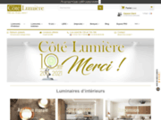 Luminaires d'intérieurs et d'extérieurs. Lampes design et modernes