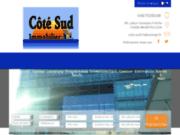 screenshot http://www.cotesudimmobilier.fr côté sud immobilier montpellier