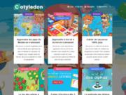 screenshot http://cotyledon.fr jeux en bois