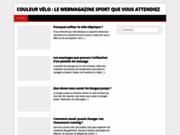 screenshot http://www.couleurvelo.com Couleur Velo