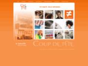 screenshot http://www.coupdetete.sn coup de tête - salon de coiffure à dakar sénégal