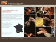Académie Crescendo, Cours de musique France