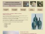 Cours de céramique à Villiers sur Marne