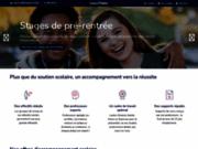 screenshot http://www.cours-thales.fr soutien et stages en cpge - lycée et collège