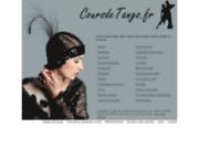 screenshot http://www.coursdetango.fr cours de tango