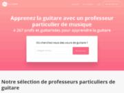 Guitare classique, cours de guitare classique