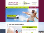 screenshot http://www.courtier-mortuacien.com Crédit immobilier à Morteau