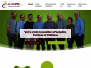 screenshot http://www.courtier-pontissalien.com prêt immobilier