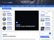 screenshot http://www.courtiers-en-ligne.fr/ guide courtiers en ligne français