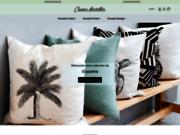 screenshot https://coussin-de-decoration.fr Coussin de décoration