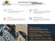 screenshot https://www.couverture-saumuroise.com/ couverture de toiture, zinguerie, bardage et isolation à Saumur 49
