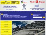 screenshot http://www.couverture-victor-lefevre.fr Couvreur à Berny Rivière