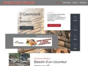 screenshot http://www.couverture-zinguerie-bordeaux.fr travaux de couverture a bordeaux