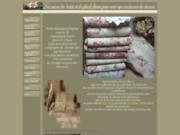 screenshot http://couvrelit-boutis.com des couvre lit boutis romantiques