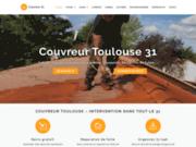 screenshot https://couvreurtoulouse31.com entreprise de couverture à Toulouse