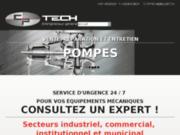 Pompe Industrielle: Installation Et Réparation De Pompage!