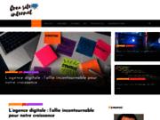 screenshot http://www.crea-site-internet.net création de sites internet