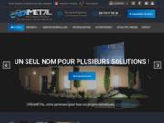 screenshot http://www.creametal.com/ metallerie lyon