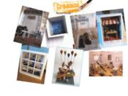 screenshot http://www.creamini.com créations de vitrines miniatures personnalisées