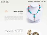 Vente de bijoux créatifs ethniques