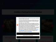 screenshot http://creation-entreprise.info Conseils pour entreprendre