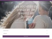 Les sociétés de crédit en Suisse